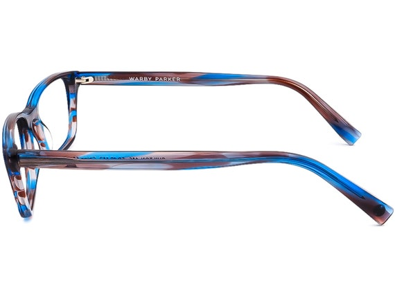 Warby Parker Eyeglasses Chilton 146 Blue/Gray/Pur… - image 6