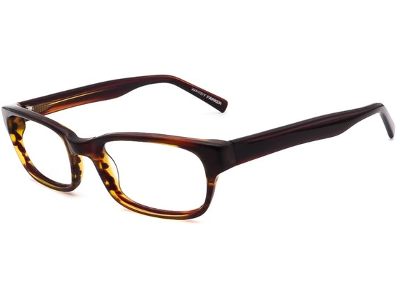 Warby Parker Eyeglasses Zagg 230  Brown Rectangul… - image 3