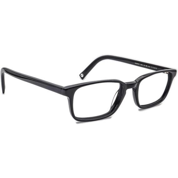 Warby Parker Eyeglasses Hardy 100 Glossy Black Rec