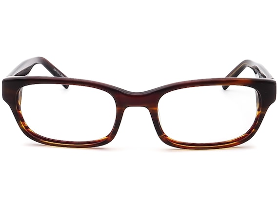 Warby Parker Eyeglasses Zagg 230  Brown Rectangul… - image 2