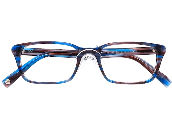 Warby Parker Eyeglasses Chilton 146 Blue/Gray/Pur… - image 4