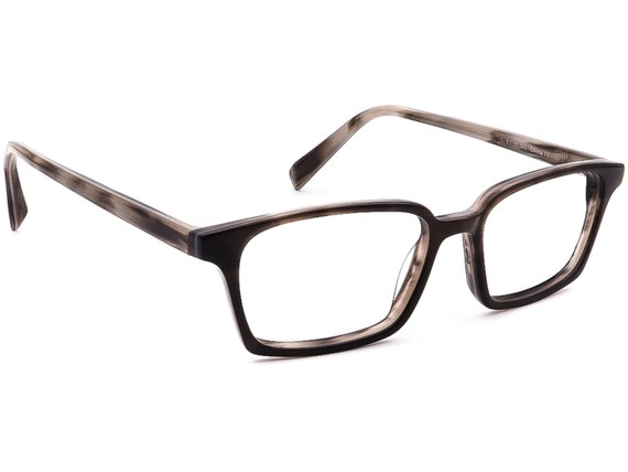Warby Parker Eyeglasses Morris 150 Gray Stone Rect