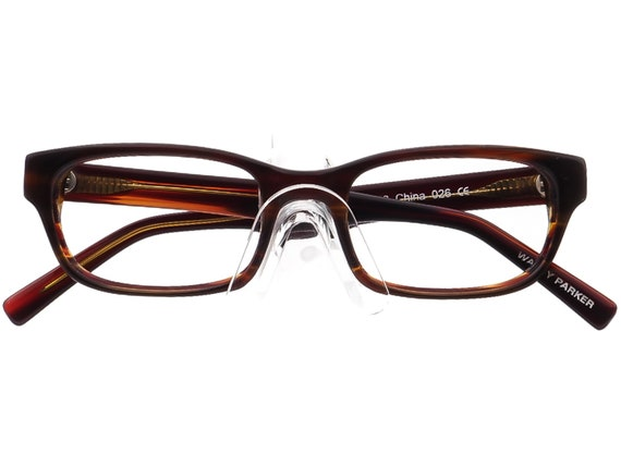 Warby Parker Eyeglasses Zagg 230  Brown Rectangul… - image 6