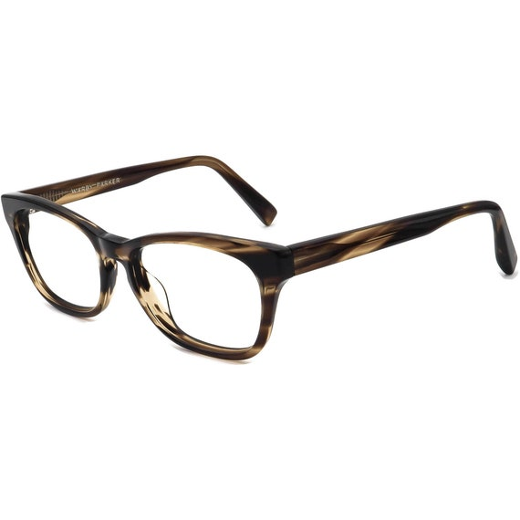 Warby Parker Eyeglasses Finch 234 Tortoise Rectan… - image 3