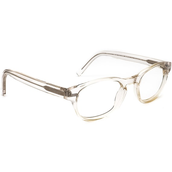 Warby Parker Eyeglasses Miles 104-500 Clear Oval F