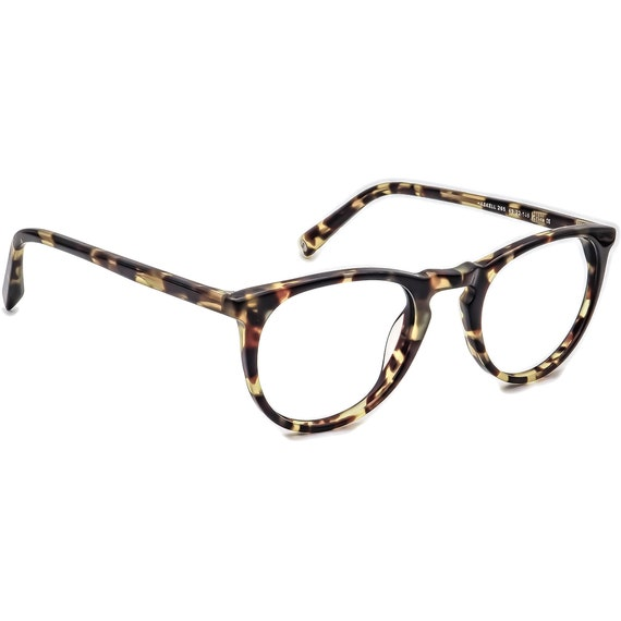 Warby Parker Eyeglasses Haskell 265 Tortoise Round