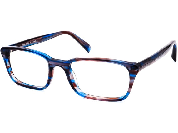Warby Parker Eyeglasses Chilton 146 Blue/Gray/Pur… - image 3