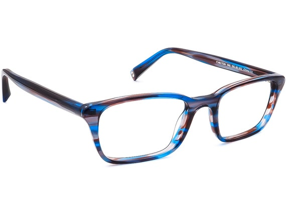 Warby Parker Eyeglasses Chilton 146 Blue/Gray/Pur… - image 1