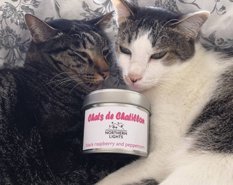 Scented candle special Chatillon Cats