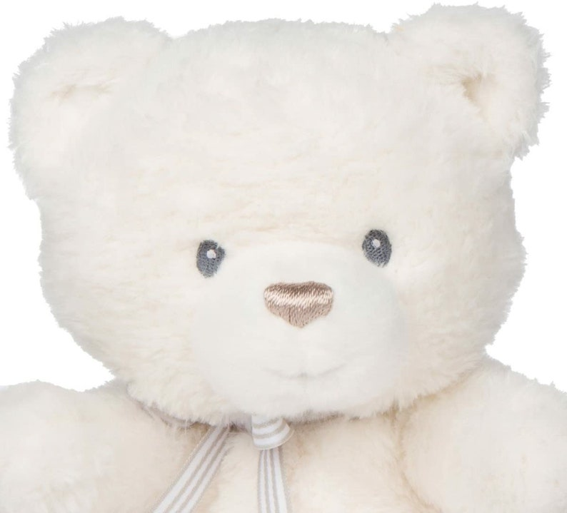 Baby  Oh So Soft Teddy Bear Stuffed Animal Plush Cream 12