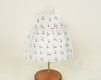 """Cute doll dress for rag doll """"Olivia"""", as an additional outfit or combinable with an """"Olivia"""" of your choice, doll's carriage gift"""