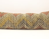 Large Size Kilim Pillow Cover 12x36 inch Long Lumbar pillow cover Bedding Pillow Turkish Handmade Decorative Home Design Boho KC-29