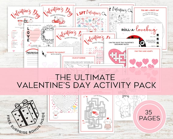 Ultimate Valentine's Day Activities For Kids