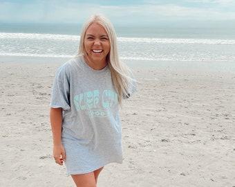 Surf City Tee | screen printed design | unisex sizing