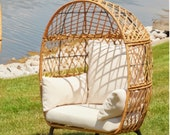 kid size Patio Furniture Home Outdoor Wicker Egg Chair Seat Chair home