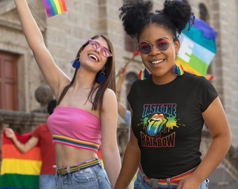 Taste The Rainbow Shirt, Gay Pride Shirt, LGBTQ Shirt, LGBT Pride, Gay Pride Clothing, Love Wins, Rainbow Pride Shirt, Equality Shirt