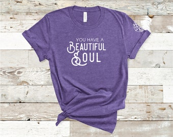 Youth Beautiful Soul Shirt, Youth Anti-Diet Shirt, Youth Positive Body Image Shirt.