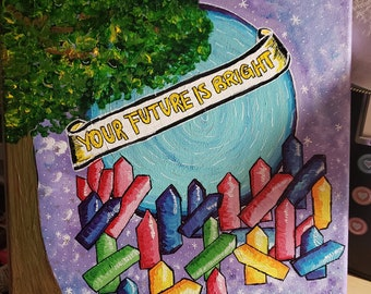 Future So Bright Backpack 16x12x4