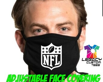 Adjustable Adult Face Covering (All 32 NFL Teams Available)