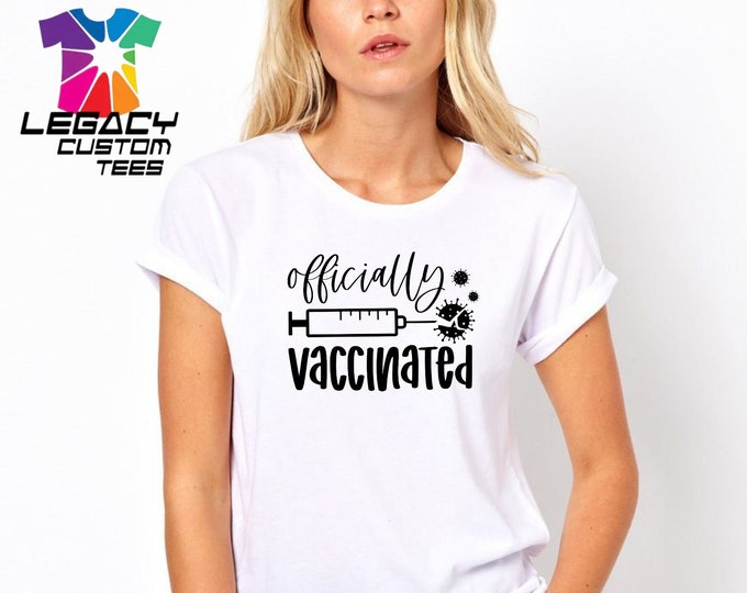 "Legacy Apparel ""Vaccine""  Unisex  Heavy Cotton Adult 6 oz. T-Shirt"