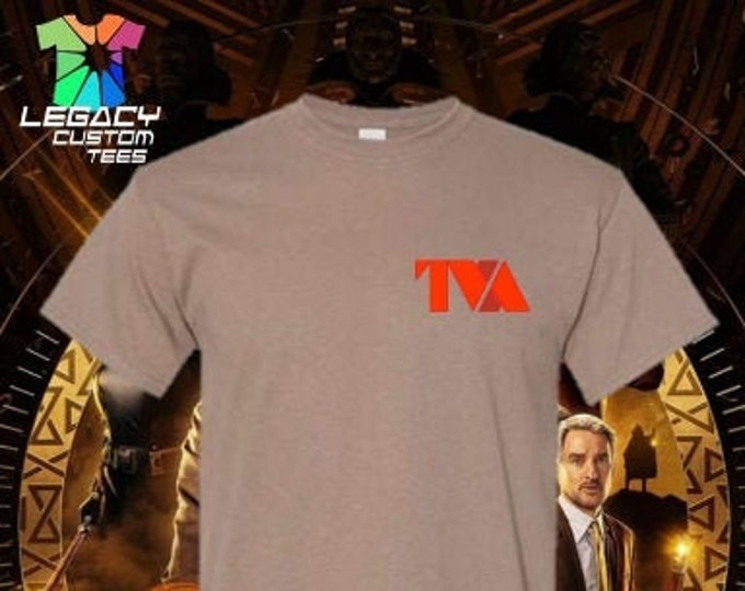 "Loki  (TVA/VARIANT ""Fluorescent "") Heavy Cotton Adult Unisex 5.3 oz. T-Shirt"