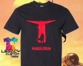 Youth Unisex Mandalorian (Red Visor) Heavy Cotton 6 oz. T-Shirt