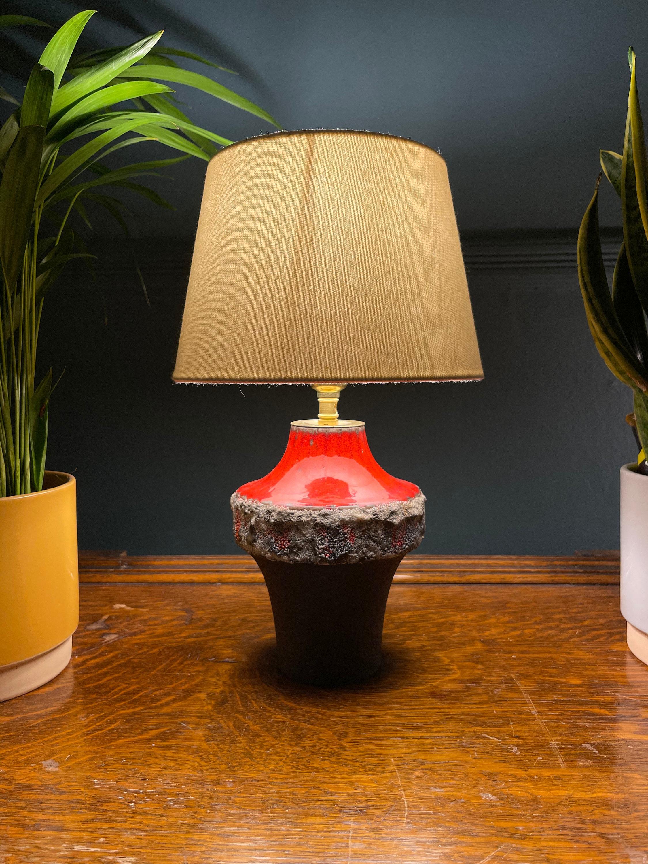 Vintage Carstens Tönnieshof Ufo Vase Table Lamp Niko