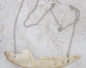 Necklace bone jewelry lace jewelry bone necklace bone art handmade necklace lace jewels witch lace necklace jaws