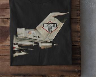 Beastie Boys Licensed To Ill Hip Hop Music VTG Black T Shirt Size S-3XL