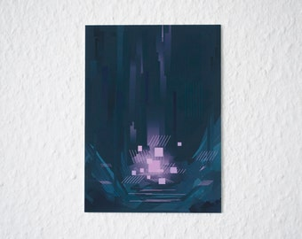 Abstract Sketch 01 | Mini Art Print