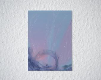 Abstract Sketch 02 | Mini Art Print