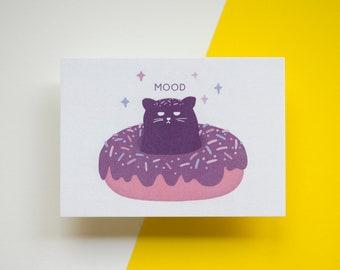 Donut Cat | Din A6 Postcard