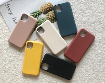 Pure color Wheat Straw iPhone 12 Case iPhone 11 Case iPhone XSMax iPhone X iPhone 11 Pro Max iPhone XR Case iPhone 8 Plus iPhone 8 Case