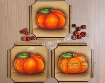 Country Painting Epattern - 3-Time Pumpkin - Marika Moretti Designs