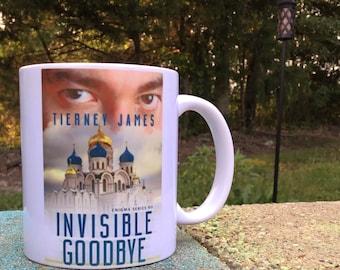 Author mug. Book cover mug. Writer mug. Author gift.  Writer gift. Reader mug. Custom author mug.