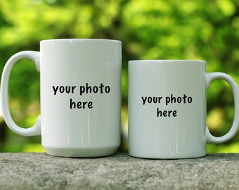 Custom photo mug | photo coffee cup | gift for her | gift for him | capture the memory