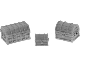 SET of 3 Chests
