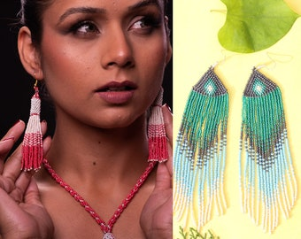 Premium crystal choker and earring Handmade choker and earring Personalized Bead Embroidery design LABRADORITE CHOKER and earring set