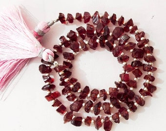 Wholesale Full Strand Natural Garnet Crystal beads,Jewelry,Necklace,Pendant,Crystal Necklace,Gift for Her,Gemstone Necklace,Garnet