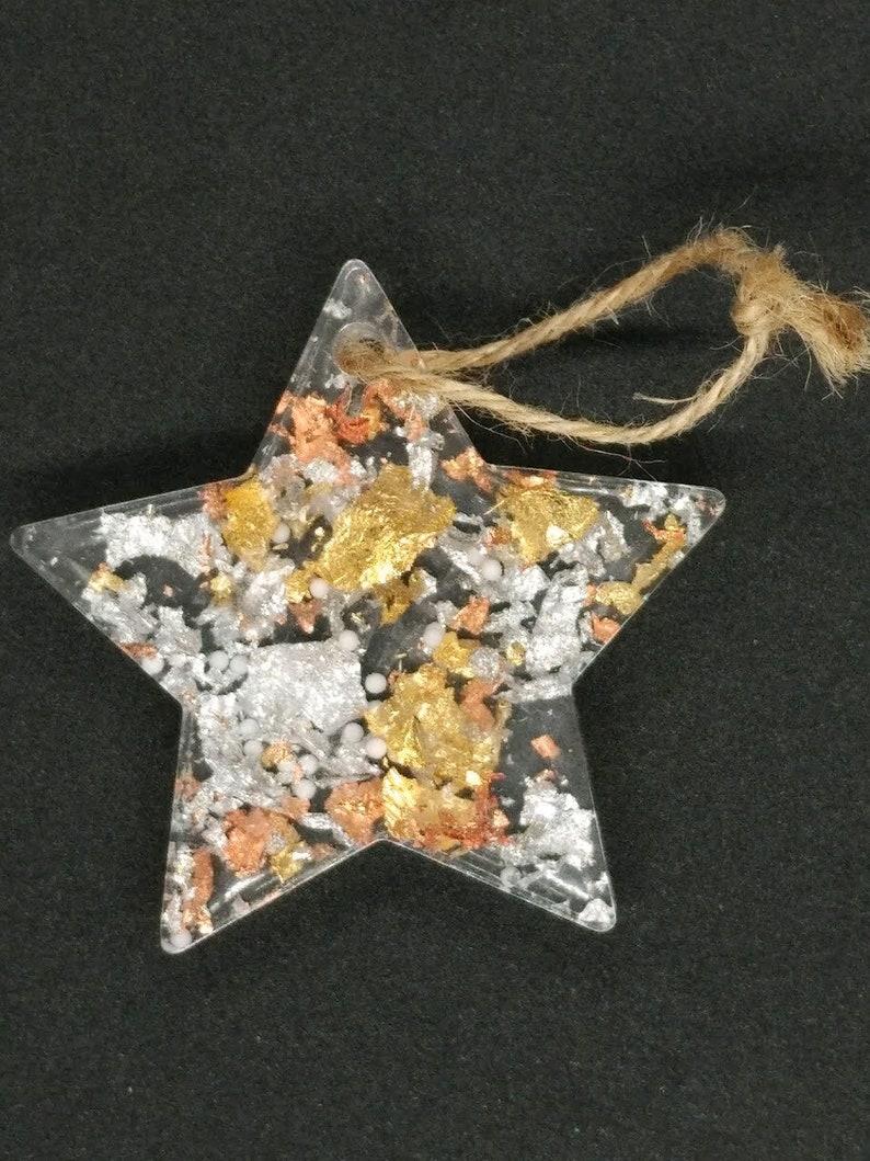 Resin star ornament