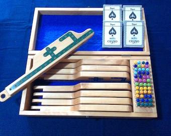 Jokers and Pegs Handmade - Pine wood