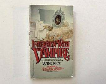 Interview With the Vampire by Anne Rice - First Ballantine Books Edition 1977 / Vintage Paperback