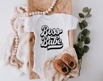 Mini Boss Babe Onesie\u00ae- Funny Baby Onesie\u00ae- Cute baby Onesie\u00ae Baby Shower Gift Baby Girl Baby Boy- New Baby- newborn