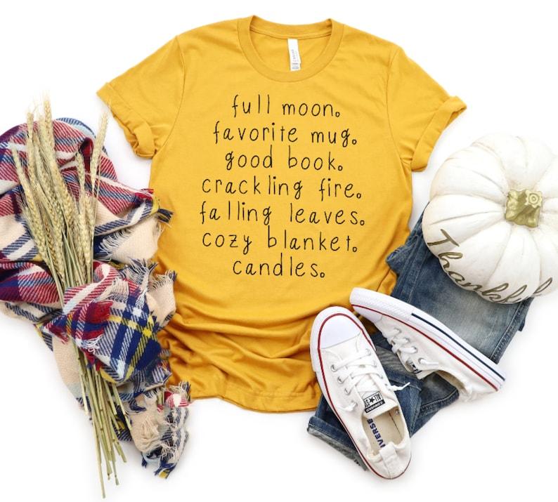 fall is my favorite, tshirt