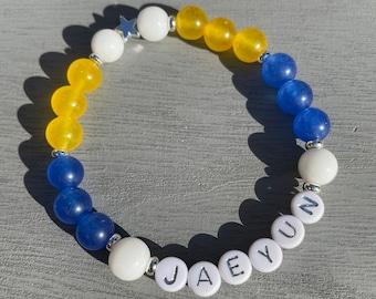 TO1 Gemstone Stretch Beaded Bracelet
