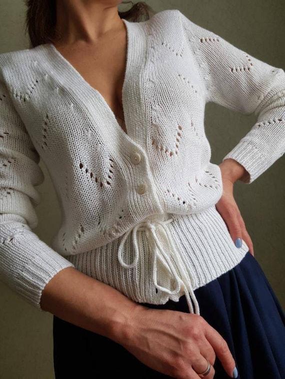 gif for her,vintage vest sweater,viskoze silk bolero openwork cardigan cape