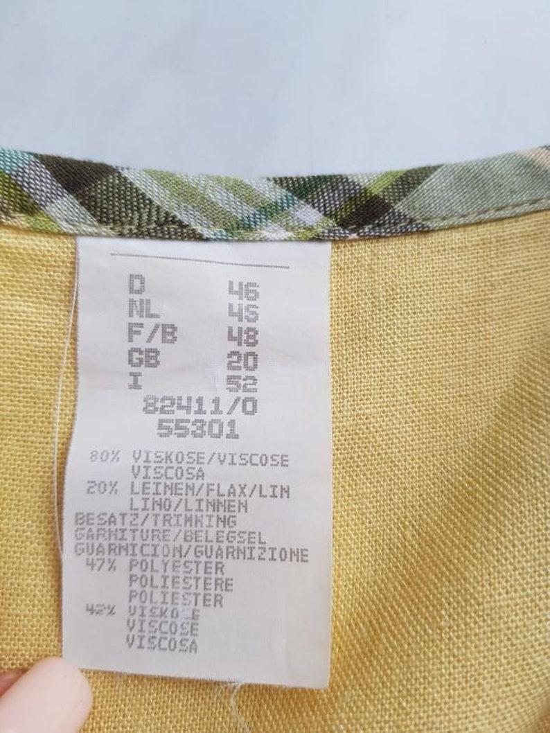 Austrian dress puffy sleeves cotton dress size XL Vintage dress Dirndl dress