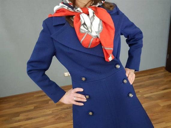 Vintage  Coat, Women's coat, Double breasted women