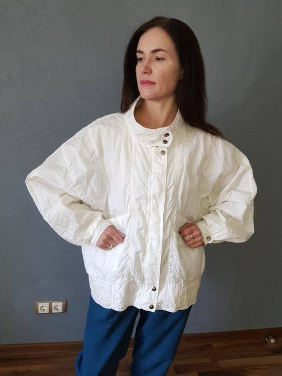 Vintage 80's Windbreaker, Vintage Jacket,  1990s f