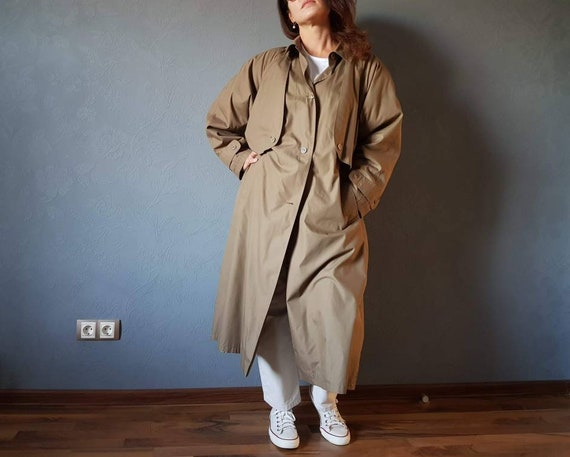 Vintage trench coat/ Vintage Trench Coat Classic /